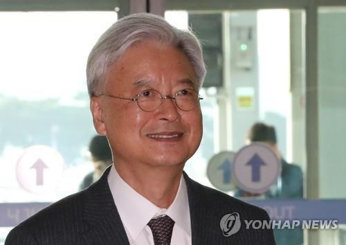 South Korean Ambassdor to the U.S. Cho Yoon-je (Yonhap)