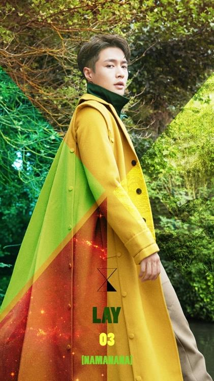 "A promotional image of Lay's new album, ""Namanana,"" is shown in this image provided by SM Entertainment. (Yonhap)"