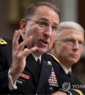 This AFP photo shows U.S. Army Gen. Robert Abrams, nominee for commander of U.S. Forces Korea. (Yonhap)