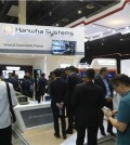 This photo taken Sept. 26, 2018, and provided by Hanwha Systems shows the company's booth set up at ADAS 2018, the biggest biennial defense industry exhibition of the Philippines. (Yonhap)