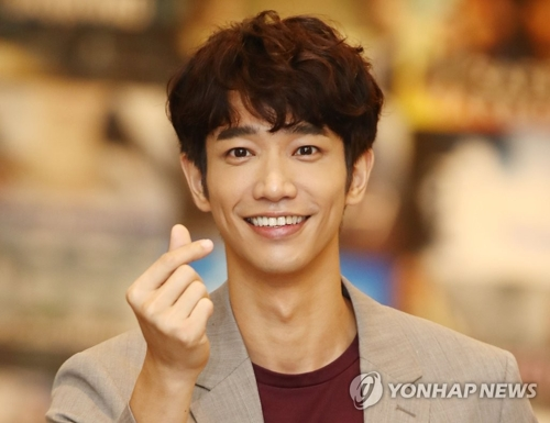 This file photo shows Taiwanese heartthrob Jasper Liu (Yonhap)