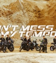 "This cover image for EXO's upcoming album ""Don't Mess Up My Tempo"" was provided by SM Entertainment. (Yonhap)"