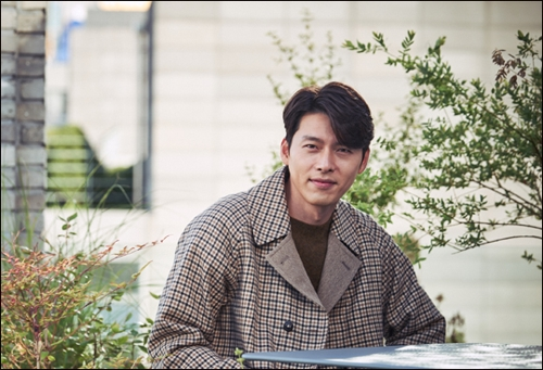 "This photo provided by the Next Entertainment World shows actor Hyun Bin of ""Rampant."" (Yonhap)"
