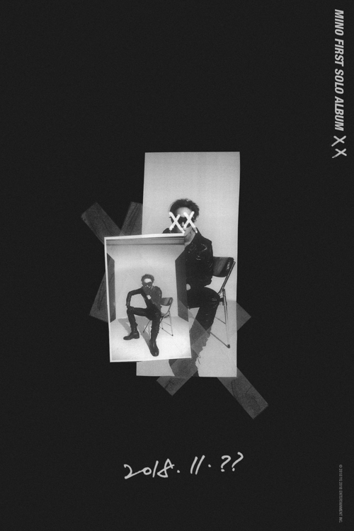 "This publicity image of Mino's upcoming solo album ""XX"" is provided by YG Entertainment. (Yonhap)"