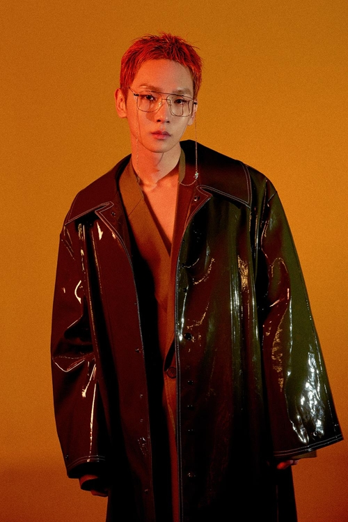 Key, a member of K-pop boy band SHINee, is shown in this teaser image provided by SM Entertainment. (Yonhap)