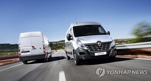 Renault's Master van (Yonhap)
