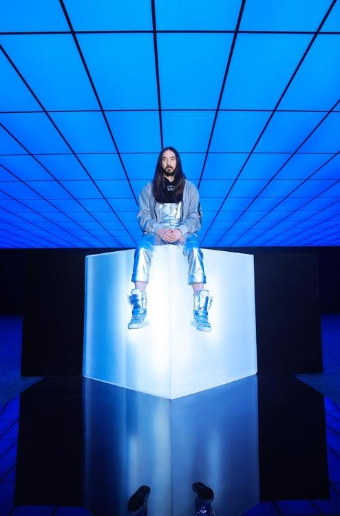 This photo of Steve Aoki is provided by Sony Music. (Yonhap)