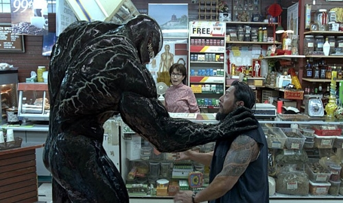 "A still from ""Venom"" (Yonhap)"