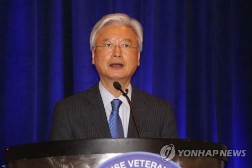 This file photo shows South Korean Ambassador to the U.S. Cho Yoon-je. (Yonhap)