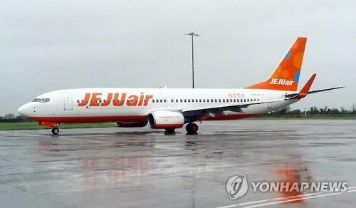 A Jeju Air B737-800 passenger jet (Yonhap)