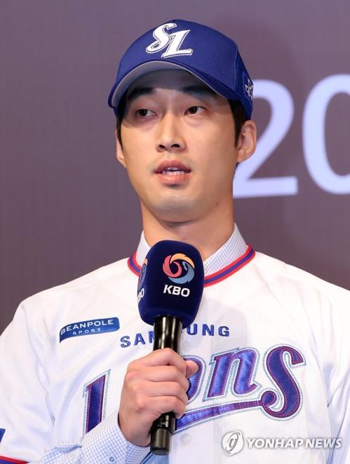 This file photo taken Sept. 10, 2018, shows Samsung Lions infielder Lee Hak-ju. (Yonhap)