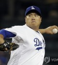 Ryu Hyun-jin of the Los Angeles Dodgers[ap=연합뉴스]