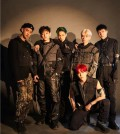 "This teaser image for EXO's sixth full-length album, ""Obsession,"" was provided by SM Entertainment. (Yonhap)"