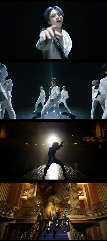 /사진=방탄소년단 'Black Swan' 뮤직비디오 캡처 (빅히트엔터테인먼트 유튜브)