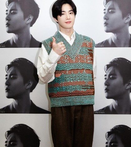 An image of Suho, provided by SM Entertainment (PHOTO NOT FOR SALE) (Yonhap)