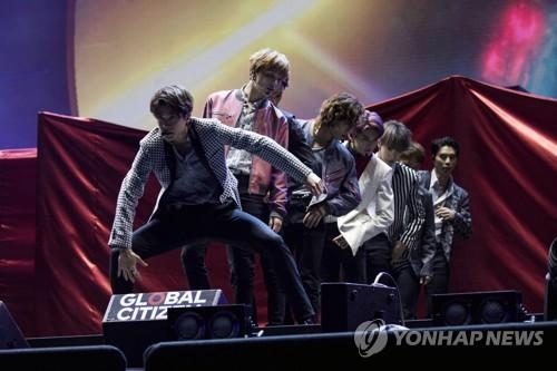K-pop group NCT 127 (AP)