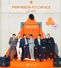 """This promotional image provided by Big Hit Music shows BTS' upcoming online concert """"Permission To Dance On Stage."""" (PHOTO NOT FOR SALE) (Yonhap)"""