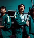 """This image provided by Netflix shows a scene from """"Squid Game."""" (PHOTO NOT FOR SALE) (Yonhap)"""